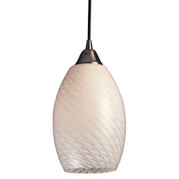 Mulinello Pendant (White Swirl) - OPEN BOX RETURN