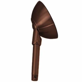Slope Ceiling Adaptor (Distressed Koa/Gold) - OPEN BOX