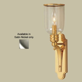 Newport Wall Sconce No. 2131 (Satin Nickel) - OPEN BOX RETURN