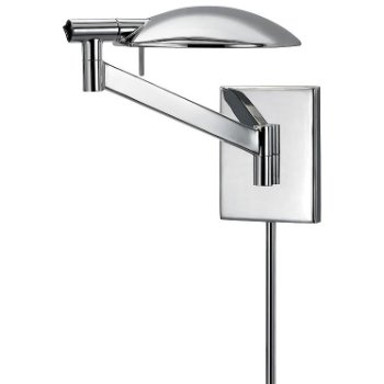 Perch Pharmacy Swingarm Wall Sconce (Chrome) - OPEN BOX