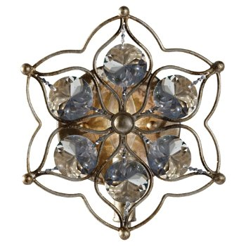 Leila Wall Sconce (Burnished Silver) - OPEN BOX RETURN