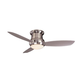 Concept II Wet 52 Inch Flush Ceiling Fan (Nickel) - OPEN BOX