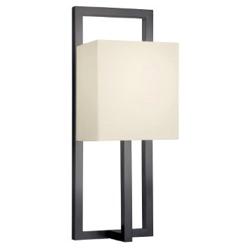 Linea Wall Sconce (Off-White/Black Bronze) - OPEN BOX RETURN