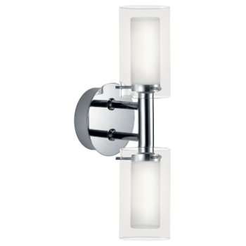 Palermo Double Wall Sconce (Chrome) - OPEN BOX RETURN