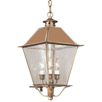 Montgomery Outdoor Pendant with Metal Top - OPEN BOX RETURN