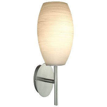 Batista 1 Wall Sconce (Matte Nickel) - OPEN BOX RETURN