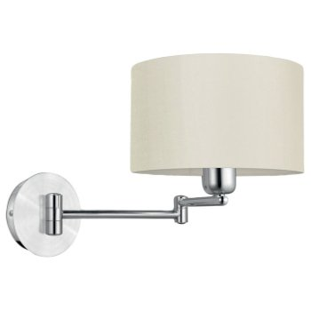 Halva Swingarm Wall Sconce (White) - OPEN BOX RETURN