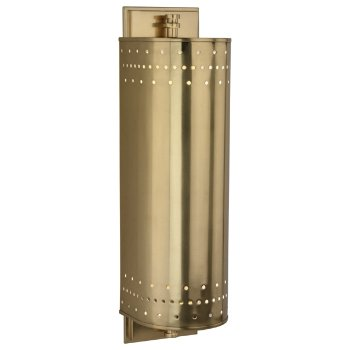 Milo 7401 Outdoor Wall Sconce (Brass) - OPEN BOX RETURN