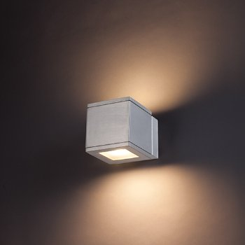 Rubix Indoor/Outdoor LED Up and Down Wall Sconce