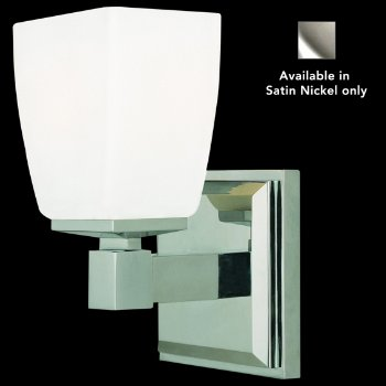 Soho Wall Sconce (Satin Nickel) - OPEN BOX RETURN