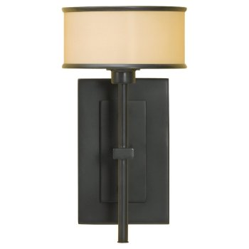 Casual Luxury Wall Sconce (Bronze Organza/Dark Bronze) - OPEN BOX RETURN
