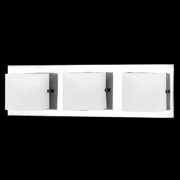Talo Bath Bar (Opal White/Chrome/3-Light) - OPEN BOX RETURN