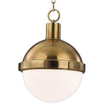 Lambert Pendant (Aged Brass/Small) - OPEN BOX RETURN