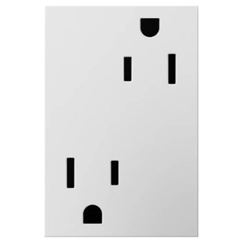Tamper-Resistant 3-Module Outlet