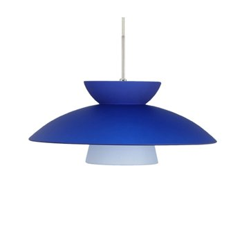 Trilo 15 Pendant (Blue/Satin Nickel) - OPEN BOX RETURN