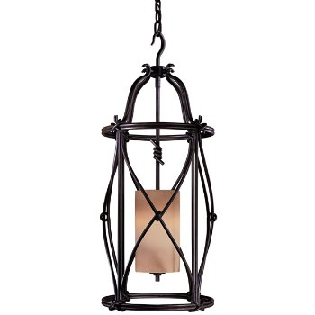 Aspen II Mini Foyer Pendant (Aspen Bronze)- OPEN BOX RETURN