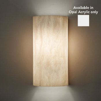 Basics 9271 Wall Sconce (Opal Acrylic) - OPEN BOX RETURN
