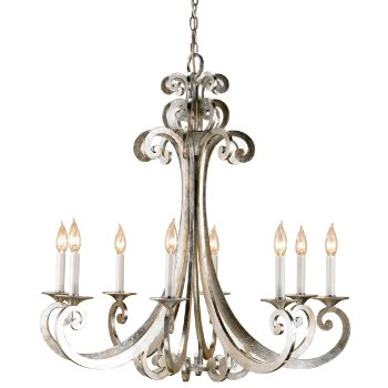 Constellation Chandelier (Contemporary Silver Leaf) - OPEN BOX RETURN