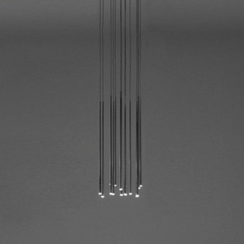 Slim LED Rectangular Multi-Light Pendant