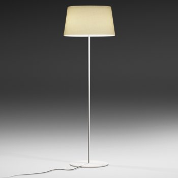 Warm Screen Shade Floor Lamp