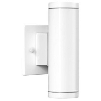 Riga Outdoor Wall Sconce (Large/White) - OPEN BOX RETURN