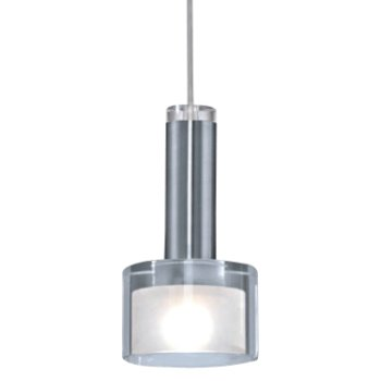 Fabiana Mini Pendant (Clear/Chrome/White) - OPEN BOX RETURN