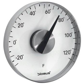 GRADO Wall Thermometer (Stainless Steel/Fahrenheit) - OPEN BOX RETURN