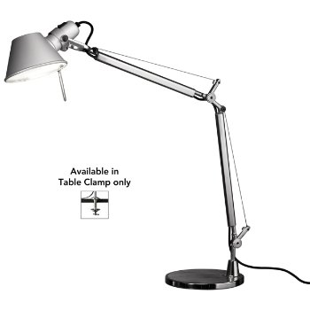 Tolomeo Mini LED Task Lamp (Aluminum/Table Clamp) - OPEN BOX RETURN