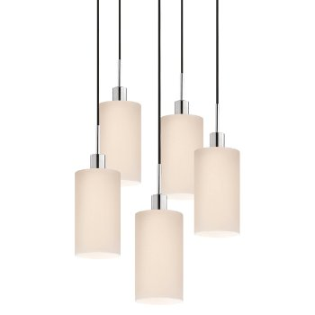 Glass Pendants - Cylinder Multi-Light