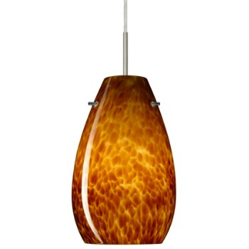 Pera 9 Pendant (Amber Cloud/Satin Nickel) - OPEN BOX RETURN