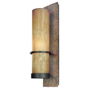 Bamboo Outdoor Wall Sconce - OPEN BOX RETURN