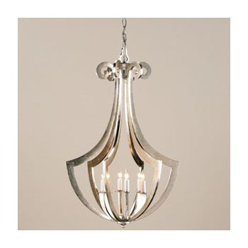 Venus Chandelier (Contemporary Silver Leaf) - OPEN BOX RETURN
