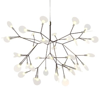 Heracleum II Small LED Chandelier by Moooi at Lumens.com