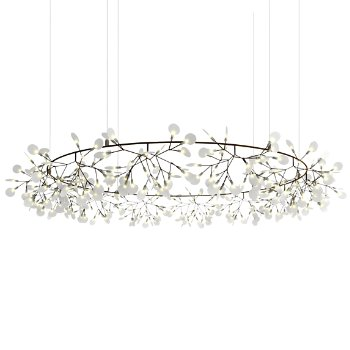 Heracleum the Big O LED Chandelier by Moooi at Lumens.com