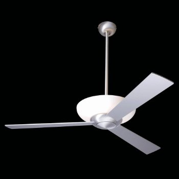 Aurora Ceiling Fan w/ Light (Aluminum/42 Inches) - OPEN BOX RETURN