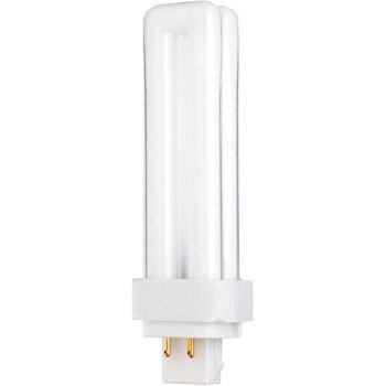 18W 120V T4 G24q-2 Quad CFL 3000K Bulb