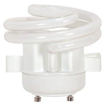 18W 120V T2 GU24 Spiral Squat CFL Bulb