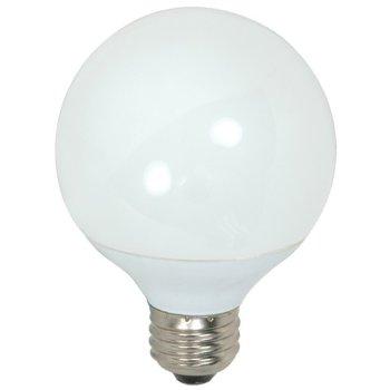 15W 120V G25 E26 CFL Bulb