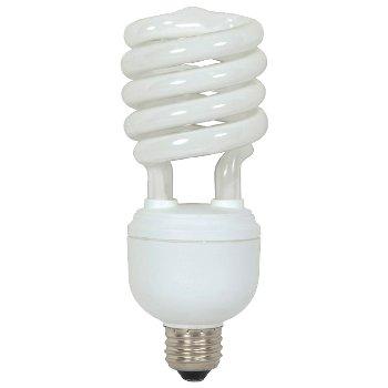 32W 120V T4 E26 Spiral CFL Bulb