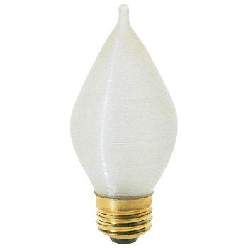 40W 120V C15 E26 Satin Spun Bulb