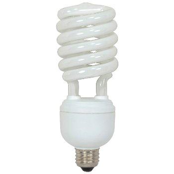 40W 120V T4 E26 Spiral CFL Bulb