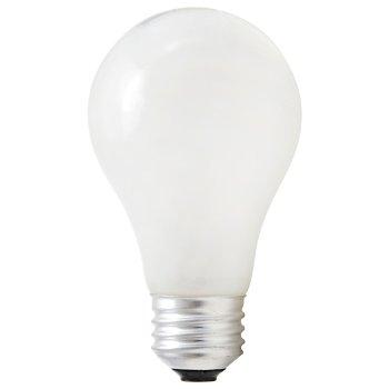 72W 120V A19 E26 White Halogen Bulb (2-PACK)