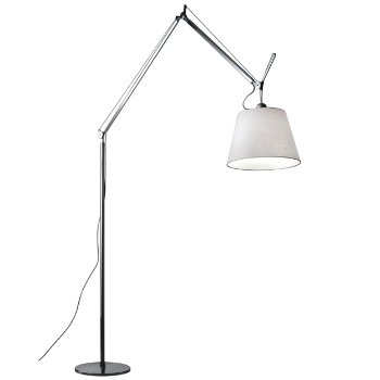 Tolomeo Mega Floor Lamp (Parchment/17 inch) - OPEN BOX