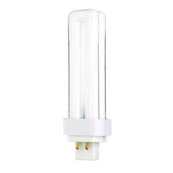 13W 120V T4 G24q-1 Quad Tube CFL 2700K
