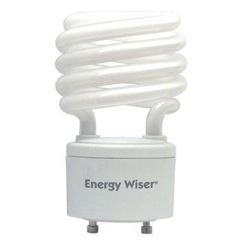 23W 120V T2 GU24 Mini Spiral CFL Bulb