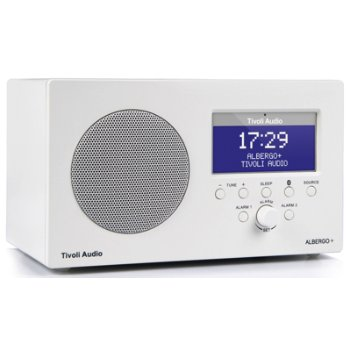 Albergo Clock Radio with Bluetooth
