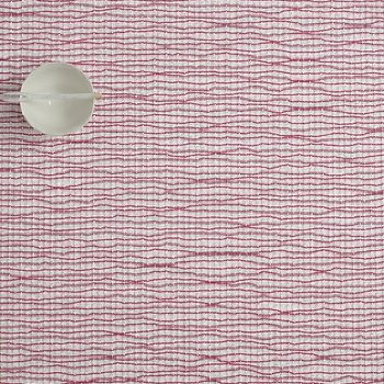 Lattice Set of 4 Rectangular Tablemats (Hot Pink) - OPEN BOX RETURN