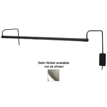 Slim-Line LED Picture Light (Nickel/Large) - OPEN BOX RETURN