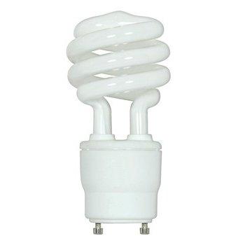 26W 120V T3 GU24 Mini Spiral CFL Bulb
