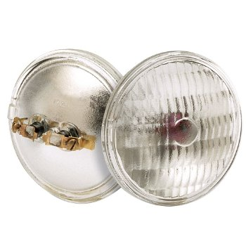 36W 12V PAR36 Screw Terminal Clear WFL Bulb